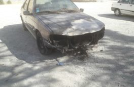 آتش سوزی در یکی از پارکینگهای کرمانشاه/۳دستگاه خودرو در آتش سوخت