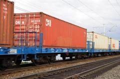 """رسیدن """"قطار"""" صادرات محصولات کشاورزی از استان را افزایش می دهد"""