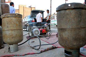 استفاده از سیلندر گاز مایع برای سوخت خودرو ممنوع است
