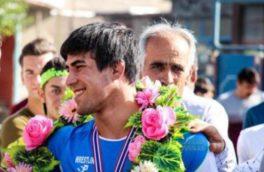 کشتی گیر کرمانشاهی برای کسب مدال عازم رقابت های جهانی آتن می شود