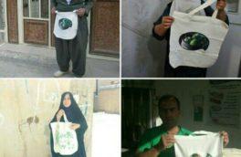"""جوانرودی ها به کیسههای پلاستیکی """"نه""""میگوید/ پیش به سوی اولین شهر بدون کیسههای پلاستیکی در کشور"""