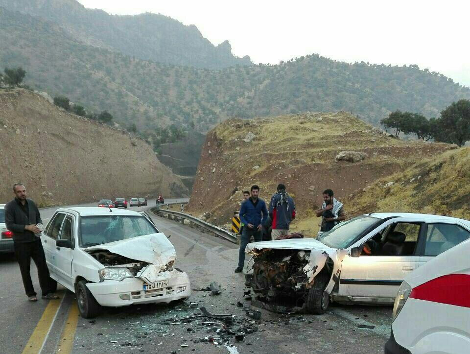 تصادف ۴ خودرو ۶ کشته و مصدوم بر جای گذاشت