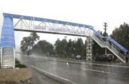 پل های عابر پیاده در کرمانشاه استاندارد نیستند