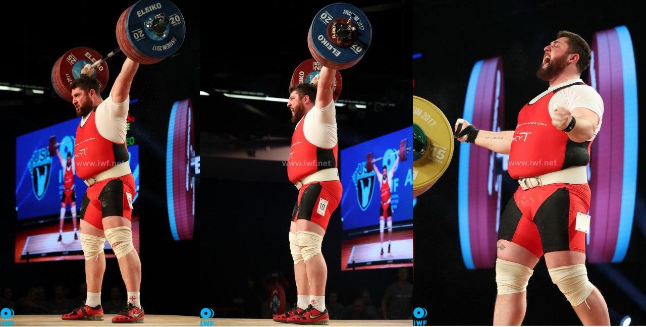 ایران قهرمان مسابقات وزنهبرداری جهان شد