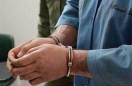 سارق به عنف در کنگاور دستگیر شد