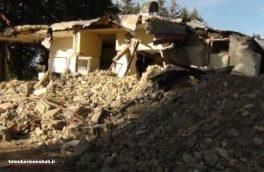 بازیافت نخاله های ساختمانی و رهایی از حصار ویرانی / نخاله های ساختمانی قصرشیرین به تپه تاریخی تبدیل میشود