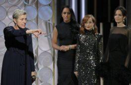 اشک هالیوودیها در گولدن گلوب درآمد / ستارههای آمریکا سیاهپوش شدند