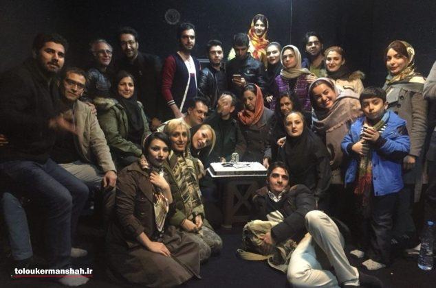 گزارش تصویری از افتتاح نخستین پلاتو خصوصی کرمانشاه