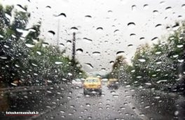 رعد و برق و بارش تگرگ در کرمانشاه تا روز چهارشنبه
