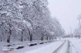 بارش برف از فردا نواحی سردسیر استان کرمانشاه را فرا میگیرد