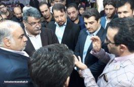 استاندار و شهردار کرمانشاه از نمایشگاه الکامپ بازدید کردند