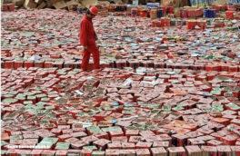 کشف ۶۳۶ هزار انواع مواد محترقه در جوانرود