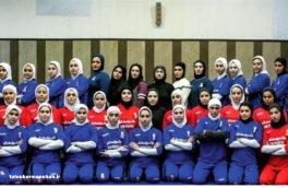 حضور ۲ بانوی کرمانشاهی در اردوی تیم ملی کشتی کلاسیک