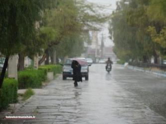 وزش باد شدید و بارشهای پراکنده باران از اواخر وقت فردا