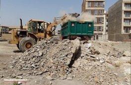 مناطق زلزلهزده در محاصره نخالهها