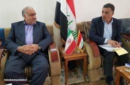 استان کرمانشاه آماده همکاری برای بازسازی و تامین زیرساختها در استان دیالی است