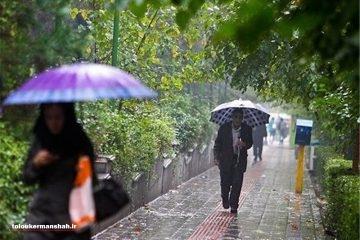 رشد ۹ درصدی میزان بارندگی در استان کرمانشاه
