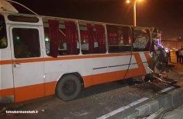 تصادف ۲ اتوبوس در کرمانشاه ۷ کشته برجا گذاشت