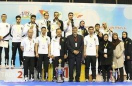 ورزشکار کرمانشاهی نشان طلای مسابقات آسیایی ویتنام را به گردن آویخت
