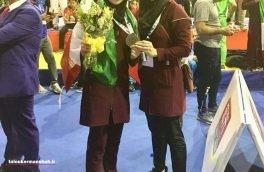 کسب مدال طلای رقابتهای ووشوی جوانان جهان توسط بانوی کرمانشاهی