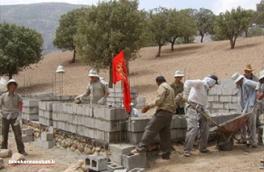 خدمت رسانی  به سه روستای زلزله زده