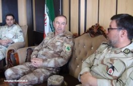 دیدار مرزبانان قصرشیرین و سلیمانیه عراق
