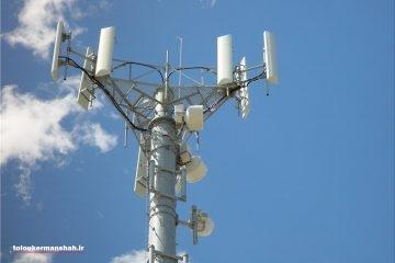 آغاز عملیات نصب دکل سایت GSM