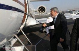 استاندار کرمانشاه وارد بغداد شد