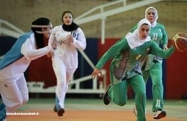 بانوی ورزشکار کرمانشاهی در اردوی تیم ملی بسکتبال سه نفره