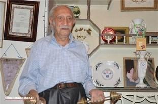 پدر ورزش کرمانشاه در سن ۹۸ سالگی درگذشت