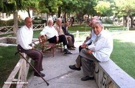 کرمانشاه دوازدهمین استان پیر کشور است۸.۵ درصد جمعیت استان را سالمندان تشکیل میدهند.