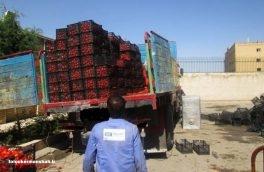 یک محموله قاچاق گوجه فرنگی در مرز خسروی کشف شد