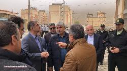 بازدید سرپرست سازمان ملی زمین و مسکن از استان کرمانشاه