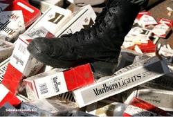 قاچاقچیان سیگار وپارچه در پاوه ناکام ماندند