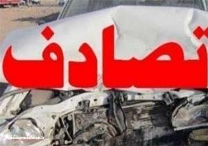 تصادف زنجیرهای در اسلام آباد غرب/هیچ زائری صدمه ندیده است