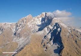 """""""پراو"""" کوهی که پوشیده از برف است"""