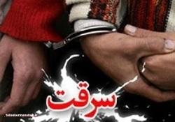 دستگیری سارق حرفه ای قطعات خودرو در مخفیگاهش