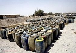 ۱۶هزار لیتر نفت سفید قاچاق کشف شد