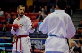 کاراته کا کرمانشاهی به دیدار رده بندی مسابقات جهانی راه یافت