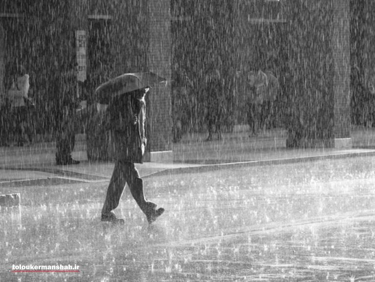 شهرستان صحنه بیشترین بارش را به خود اختصاص داد