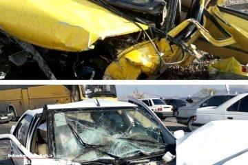 سانحه رانندگی باز هم قربانی گرفت