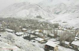 بارش باران و برف در کرمانشاه