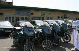 توقیف ۲۹۶ دستگاه وسیله نقلیه متخلف در کرمانشاه
