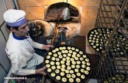 نان برنج هایی با رنگ وطعم تقلبی زعفران