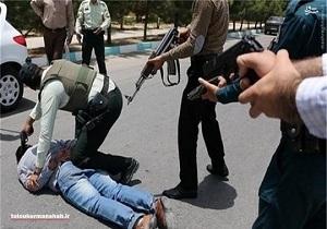 دستگیری عربده کش در کرمانشاه