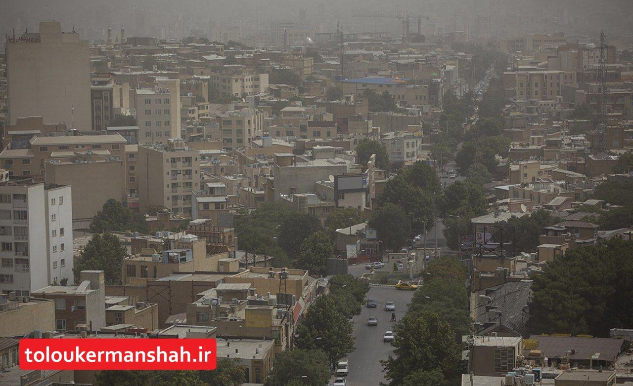 وسایل نقلیه عامل ۸۰ درصد آلودگی هوا در کرمانشاه