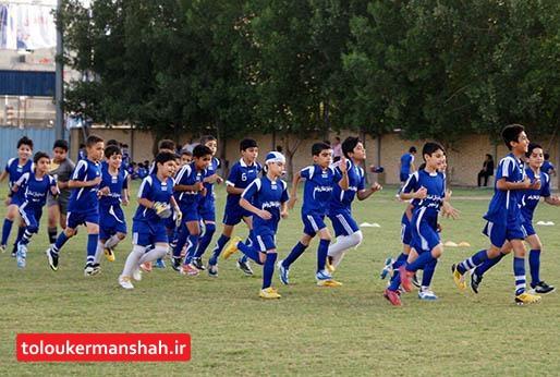 فوتبال دارای بیشترین ورزشکار سازمان یافته در کرمانشاه است