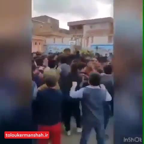 مشکل شخصی؛ دلیل حضور «علی کسگم» در یکی از مدارس کرمانشاه