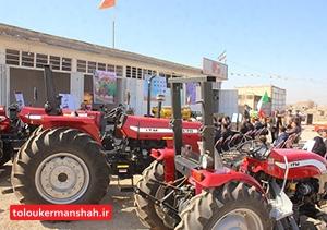پرداخت ۶۸ میلیارد تومان تسهیلات مکانیزاسیون به کشاورزان کرمانشاهی