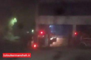 شنیده شدن صدای انفجار در شهرک حافظیه